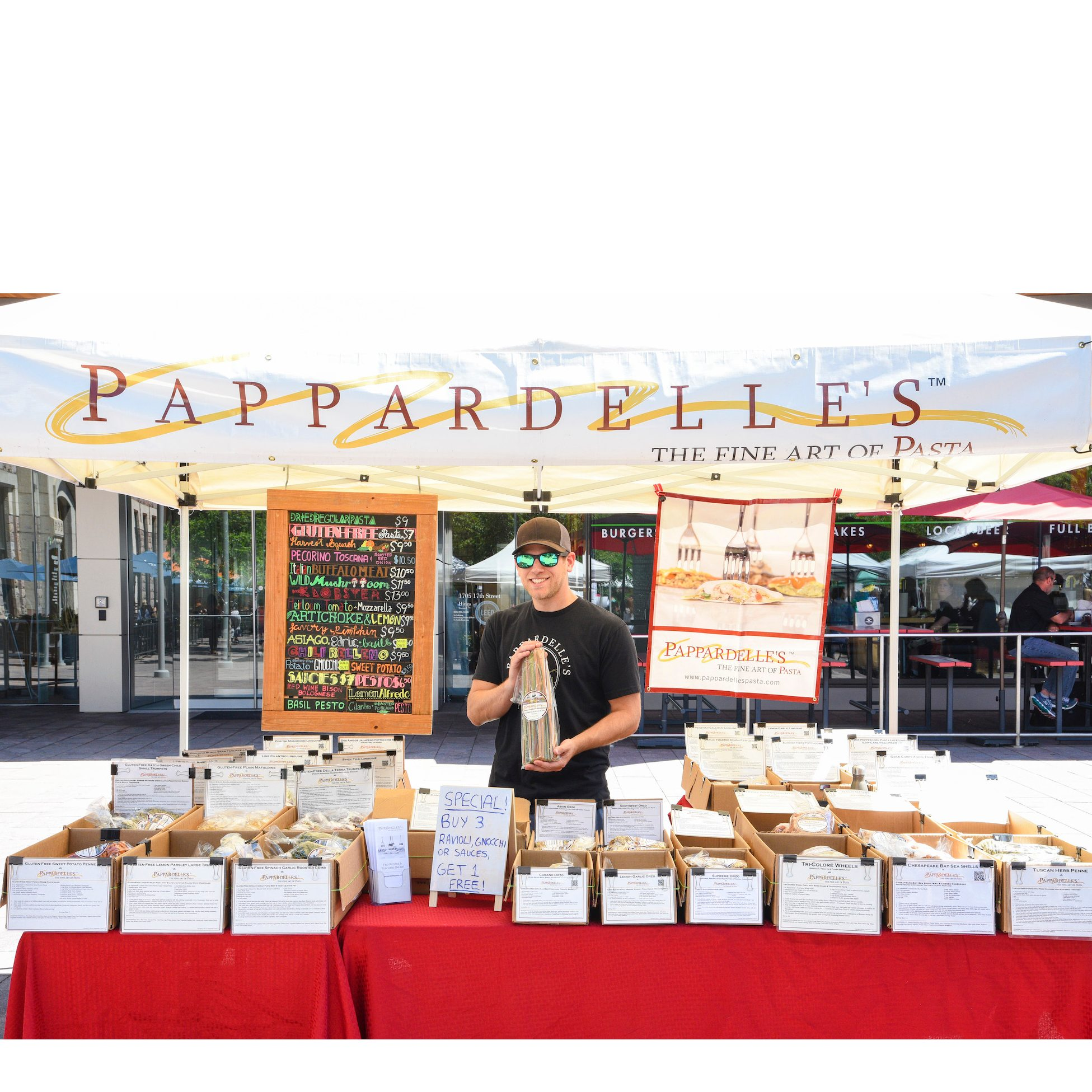 Pappardelle's Pasta