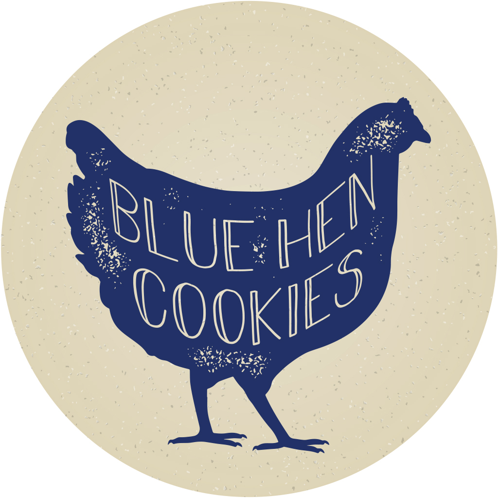 Blue Hen Cookies