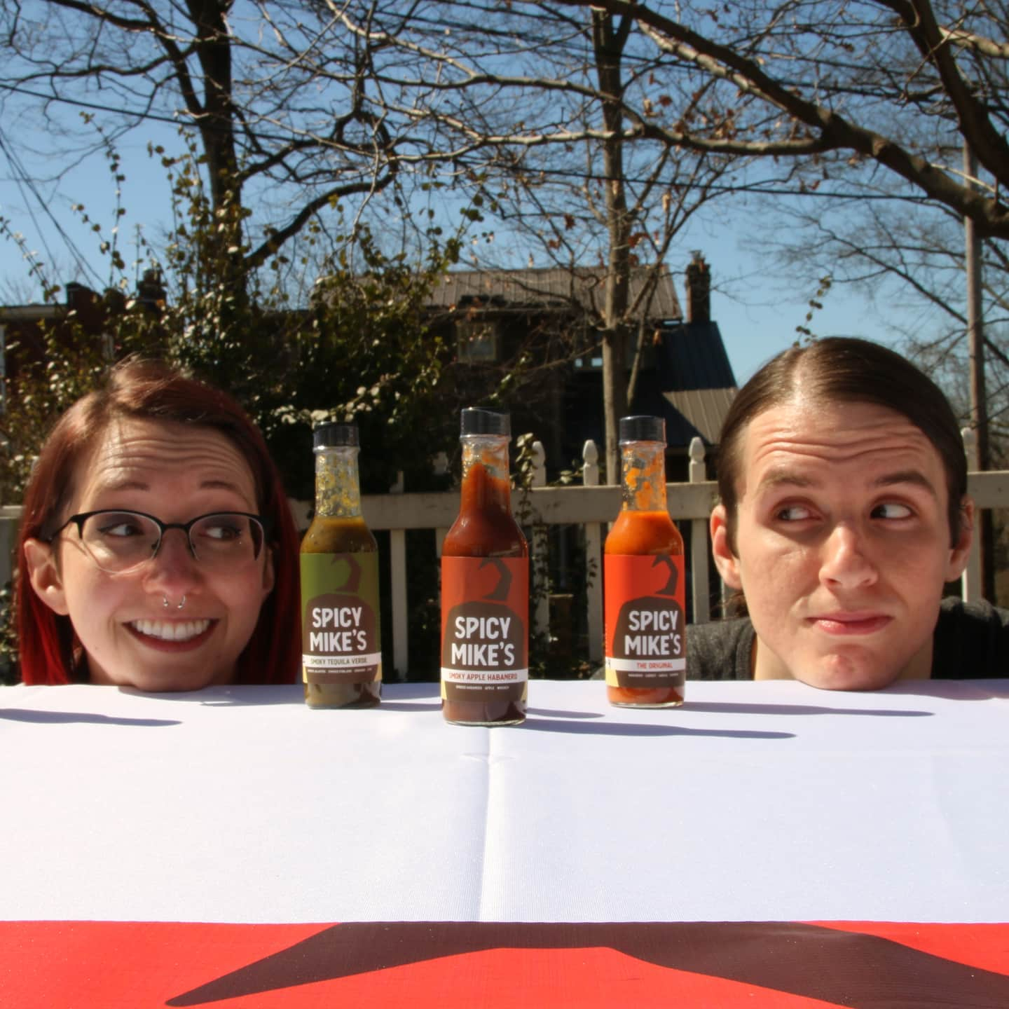 20-Spicy Mike's Hot Sauce