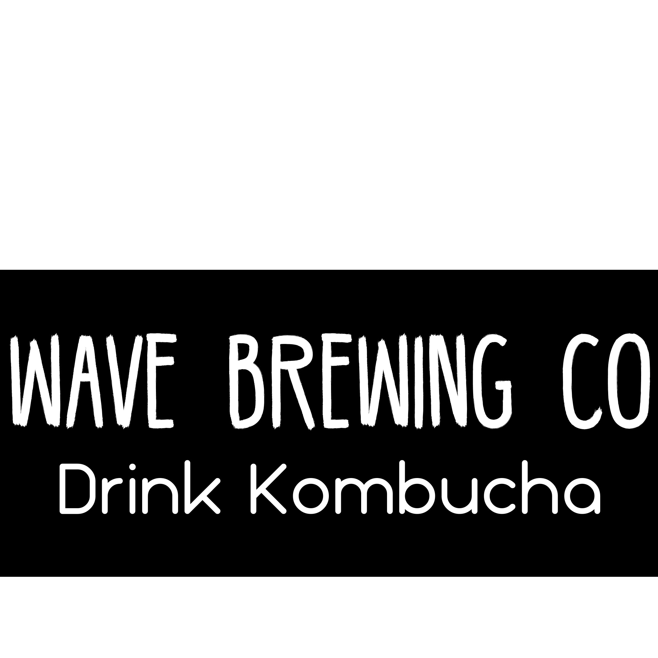 DRINK KOMBUCHA by Wave Brewing Company