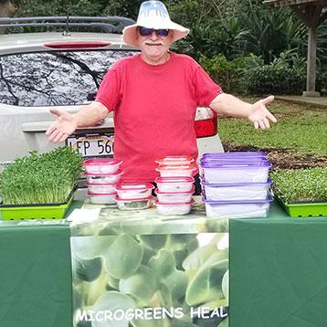 Taj Mahana Farms/ Microgreens Heal