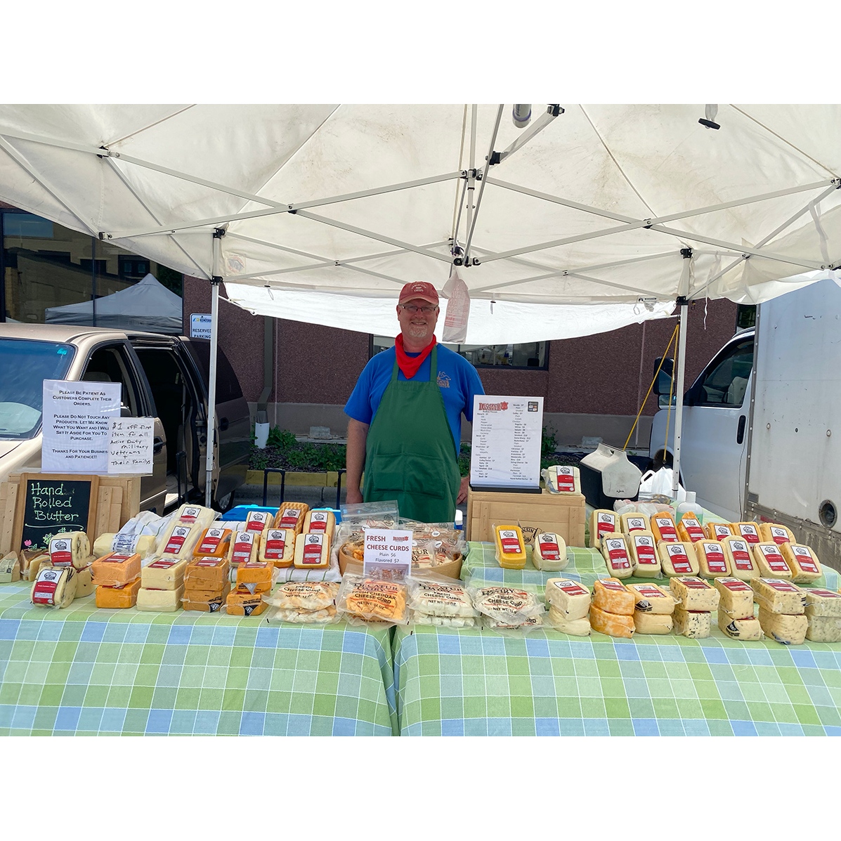 John's Decatur Dairy Cheese Tent (Independent Contractor)