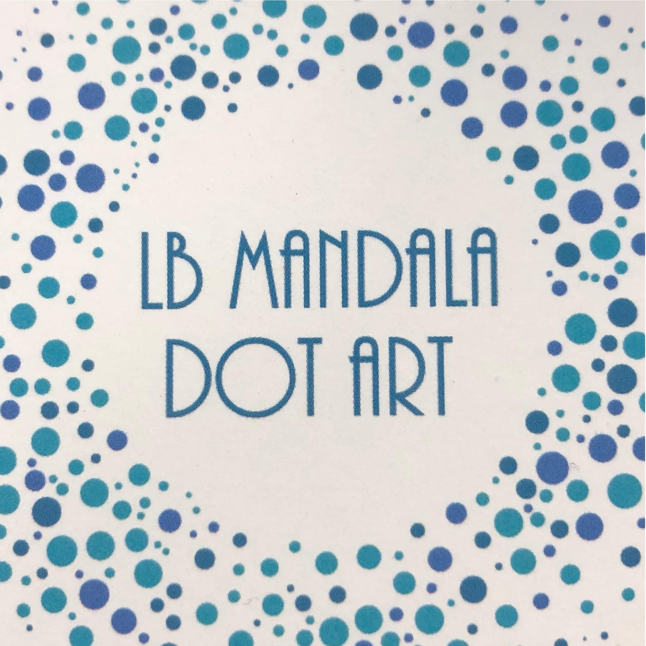 LB Mandala Dot Art
