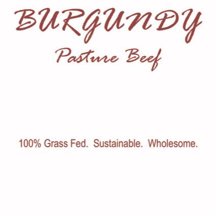 Burgundy Pasture Beef