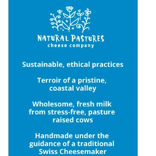 Natural Pastures Cheese