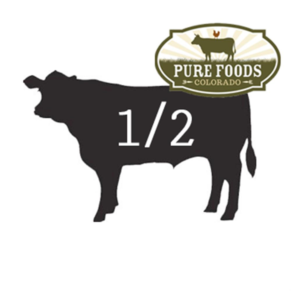 Pasture-to-Plate Beef 1/2