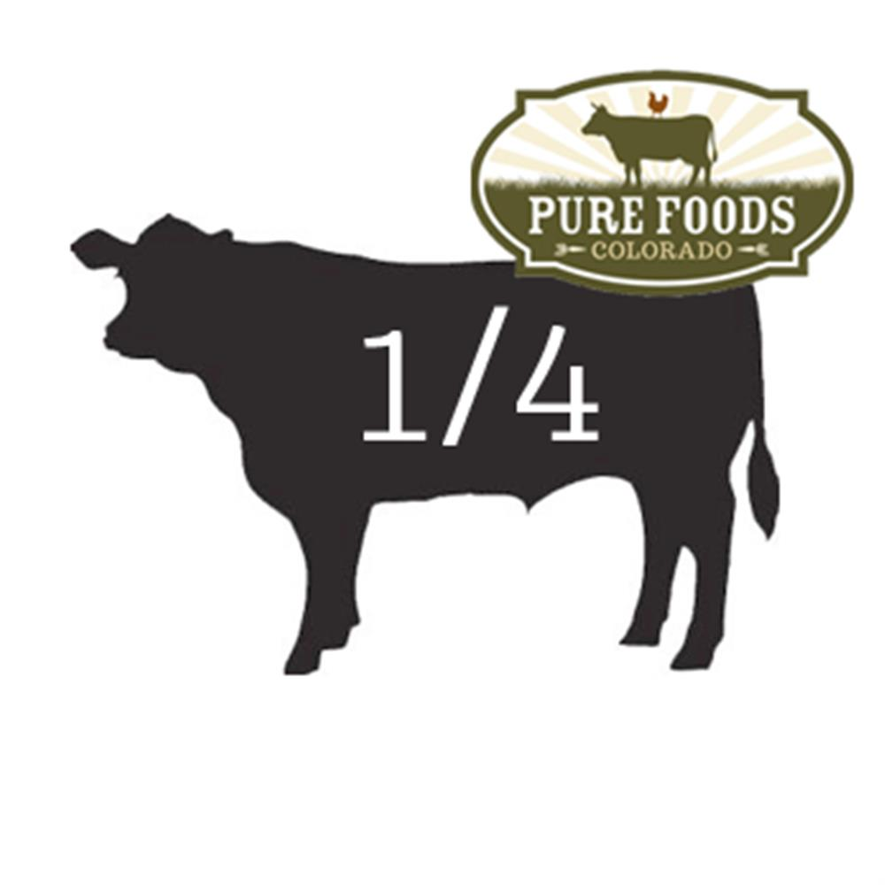 Pasture-to-Plate Beef 1/4