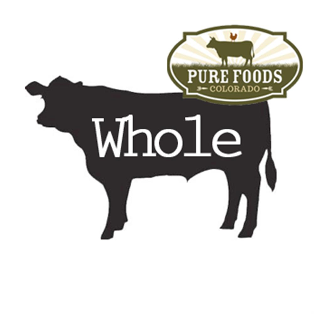 Pasture-to-Plate Beef, Whole
